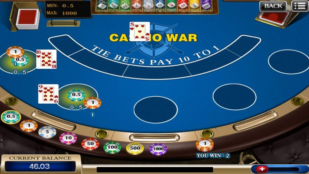 在线赌场战争